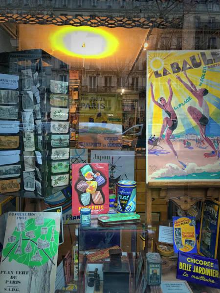Photograph - Beaumarchais Poster Shop by Jessica Levant