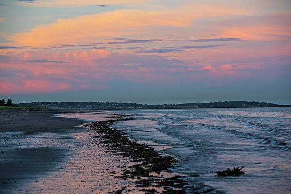 Photograph - Beautful Sunset Over Revere Beach And Nahant Revere Ma by Toby McGuire