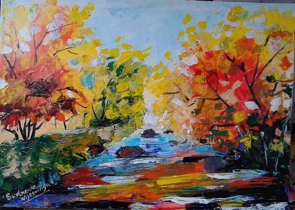 Wall Art - Painting - Beauth Of Nature by Sudumenike Wijesooriya