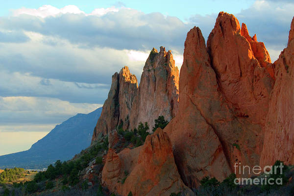 Photograph - Beautiful Afternoon Light On Garden Of The Gods by Steve Krull