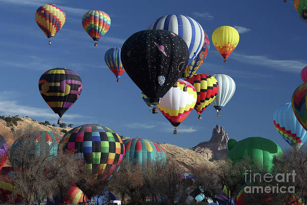 Wall Art - Photograph - Beautiful Balloons by Rick Mann