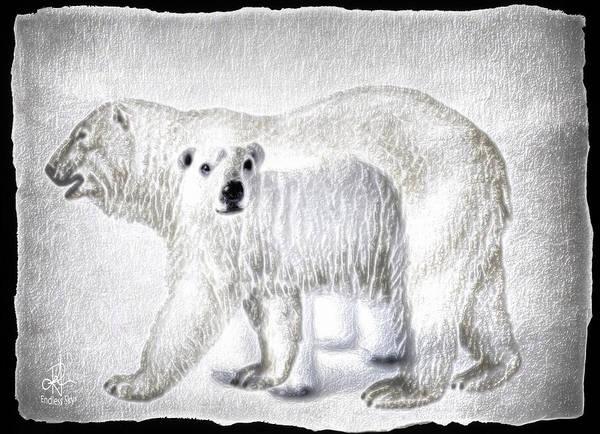 Digital Art - Beautiful Bears by Pennie McCracken