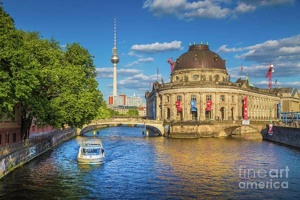 Fernsehturm Photograph - Beautiful Berlin by JR Photography