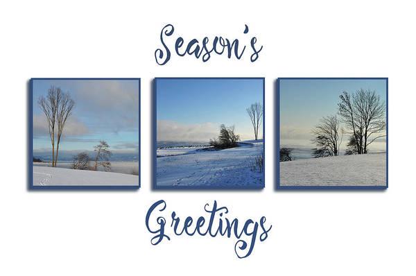 Photograph - Beautiful Blue Christmas by Randi Grace Nilsberg