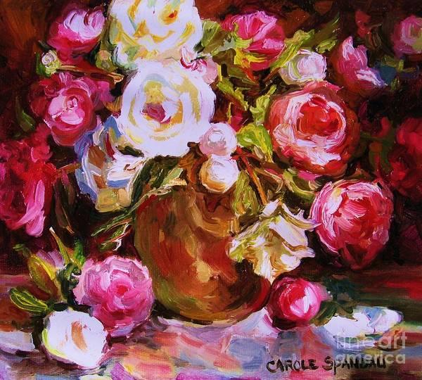 Painting - Beautiful Bouquet by Carole Spandau
