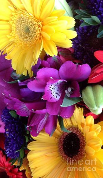 Floristry Photograph - Beautiful Bouquet  by By Divine Light