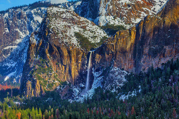 Beautiful Bridalveil Falls Art Print