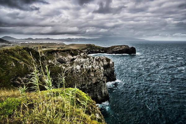 Photograph - Beautiful But Rugged Azorean Coast  by Sven Brogren