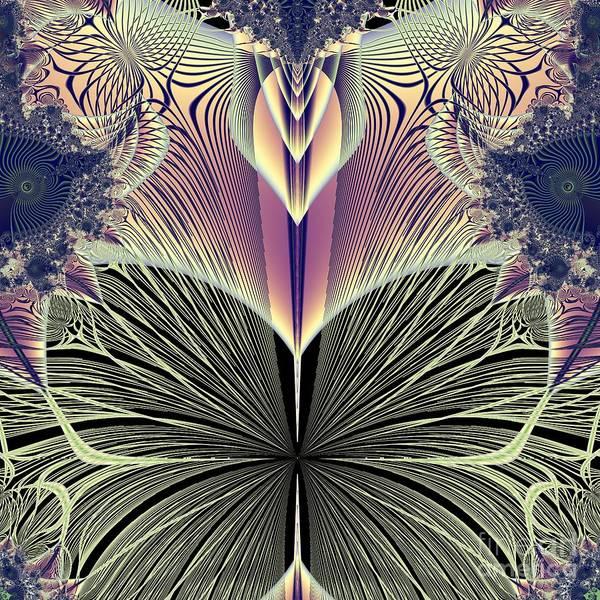 Digital Art - Beautiful Butterfly Ballet Fractal by Rose Santuci-Sofranko