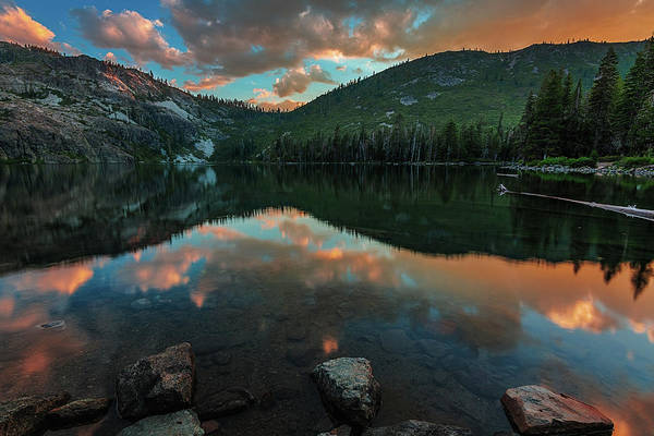 Photograph - Beautiful Castle Lake by John Hight