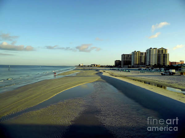 Photograph - Beautiful Clearwater Beach Morning by D Hackett