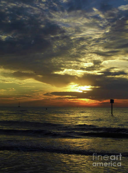 Photograph - Beautiful Clearwater Sunset by D Hackett