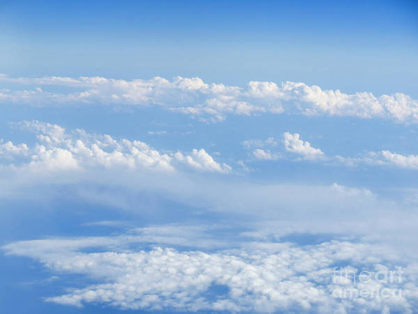 Wall Art - Photograph - Beautiful Cloudscape On A Blue Sky  by Ami Siano