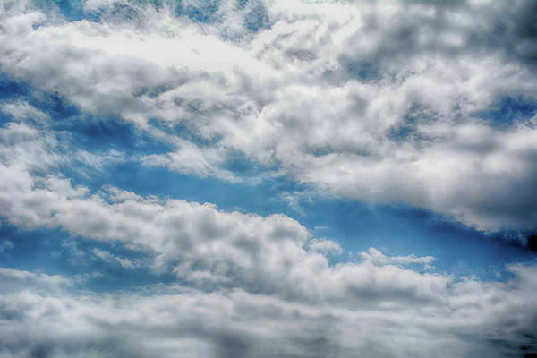 Photograph - Beautiful Cloudy Sky by Oana Unciuleanu