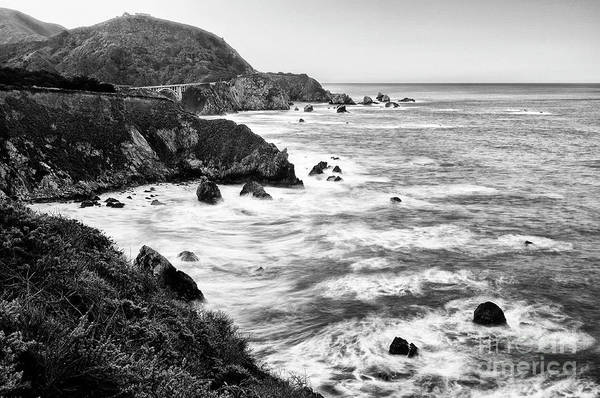 Big Sur Photograph - Beautiful Coastal View Of Big Sur In California. by Jamie Pham