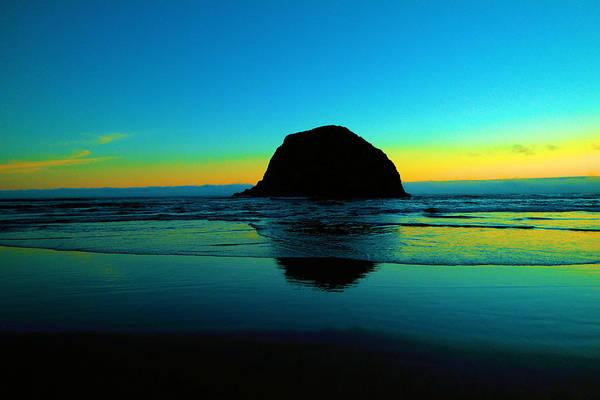Monolith Photograph - Beautiful Coastline by Jeff Swan