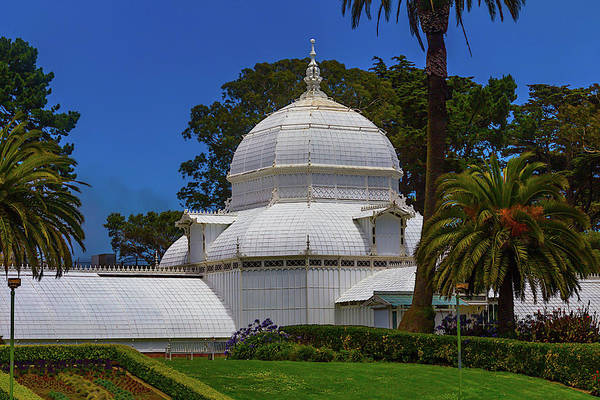 Conservatory Photograph - Beautiful Conservatory Of Flowers by Garry Gay