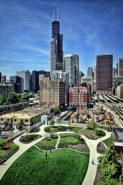 Photograph - beautiful day and view of Chicago by Sven Brogren