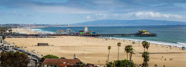 Photograph - Beautiful Day At The Pier - Panorama by Gene Parks
