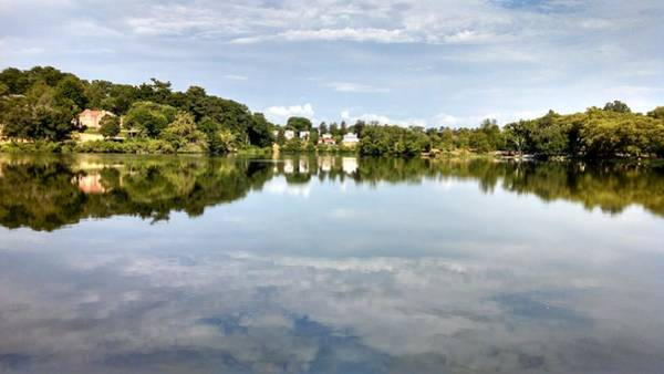 Photograph - Beautiful Day Reflections by Allen Nice-Webb