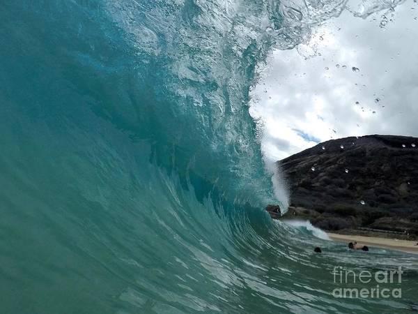 Bodyboard Photograph - Beautiful Departure  by Benen  Weir
