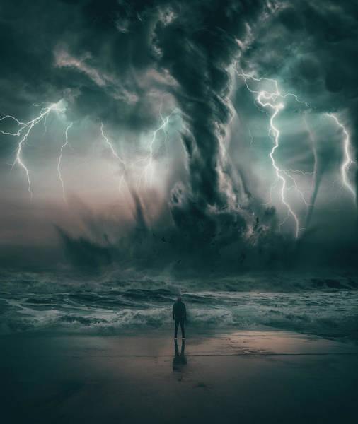 Tornado Digital Art - Beautiful Destruction by Alexander McWherter