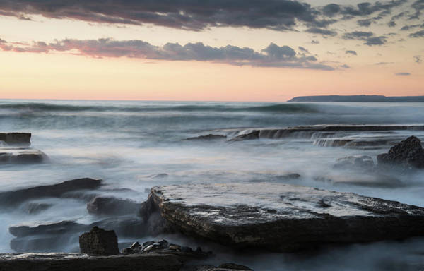 Outdoor Wall Art - Photograph - Beautiful Dramatic Sunset Over A Rocky Coast by Michalakis Ppalis