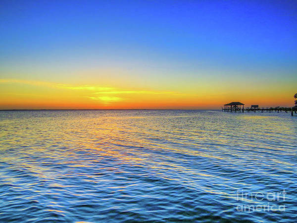 Wall Art - Digital Art - Beautiful Evening At The Outer Banks by Randy Steele