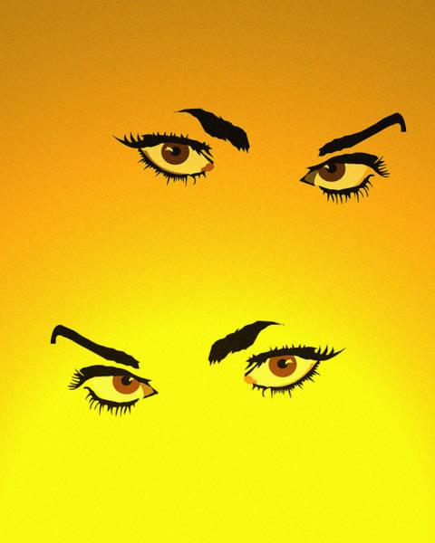 Wall Art - Digital Art - Beautiful Eyes by Andy Donald
