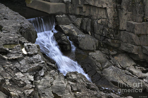 Photograph - Beautiful Flow Of Power by Deborah Benoit