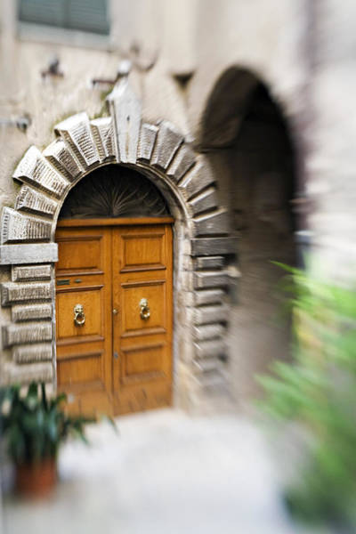 Photograph - Beautiful Italian Doorway by Marilyn Hunt