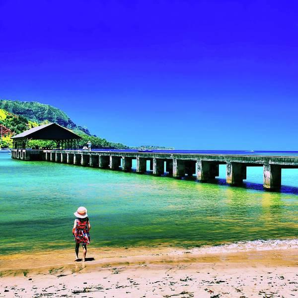Hawaiiana Photograph - Beautiful Kauai by DJ Florek