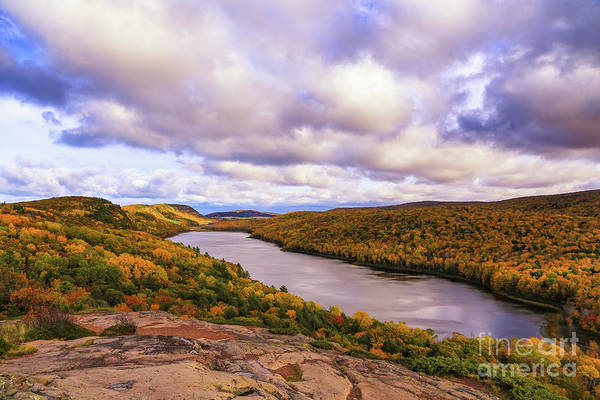 Photograph - Beautiful Lake Of The Clouds by Rachel Cohen