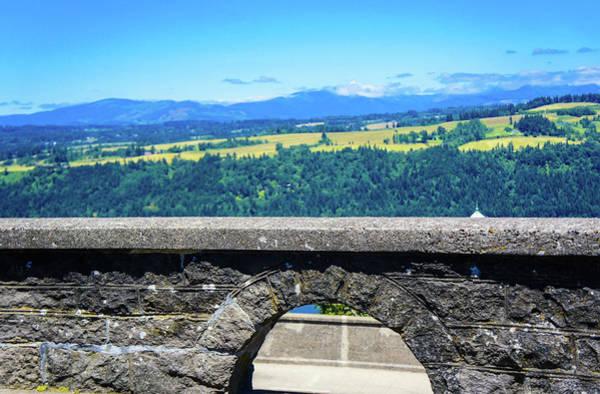 Wall Art - Photograph - Beautiful Landscape From Vista House by Art Spectrum