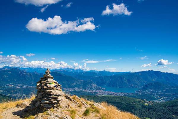 Photograph - Beautiful Landscape Ticino Switzerland by Matthias Hauser