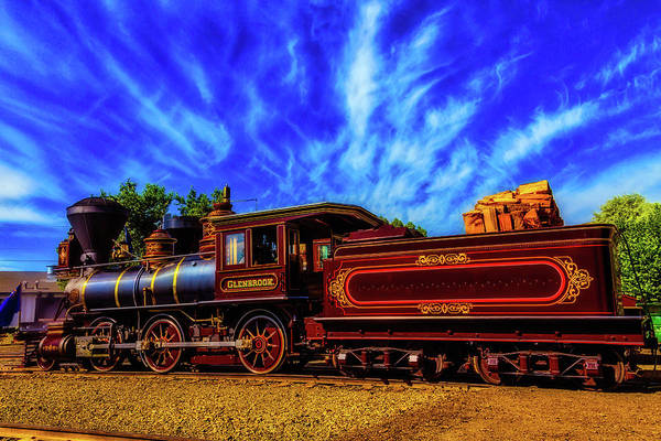 Gauge Photograph - Beautiful Locomotive Glenbrook by Garry Gay