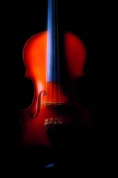Bluegrass Photograph - Beautiful Moody Violin by Garry Gay