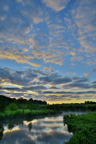 Photograph - Beautiful Morning Sky Over Glacial Park by Ray Mathis