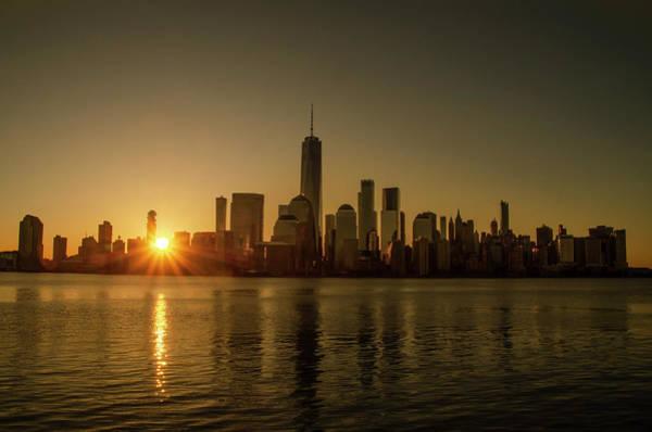 Photograph - Beautiful New York Sunrise by Bill Cannon