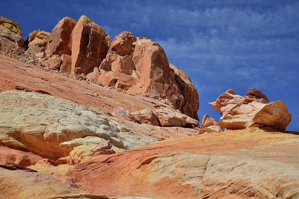 Photograph - Beautiful Peaks Of Valley Of Fire by Ray Mathis
