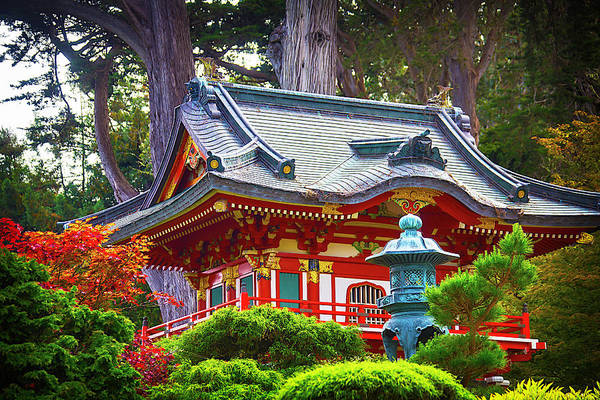 Pagoda Photograph - Beautiful Pogaha Golden Gate Park by Garry Gay