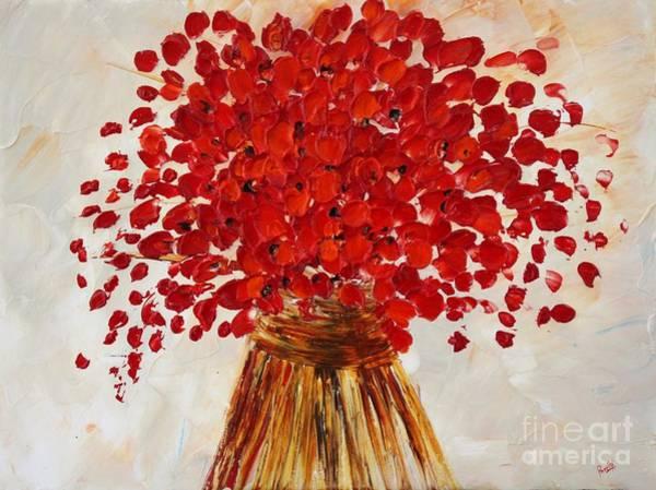 Painting - Beautiful by Preethi Mathialagan