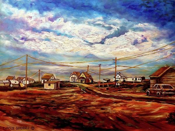 Prince Edward Island Painting - Beautiful Prince Edward Island Maritime Canada by Carole Spandau