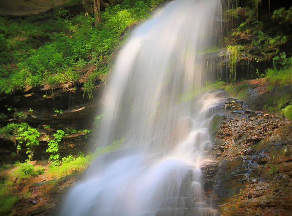 Photograph - Beautiful Spring Waterfall by Dan Sproul