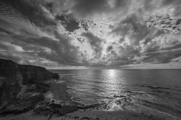 Photograph - Beautiful Storm Over Sunset Cliffs San Diego by TM Schultze