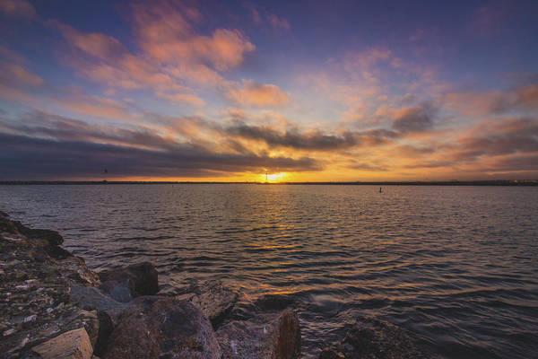 Photograph - Beautiful Sunset At Marina Del Rey by Andy Konieczny