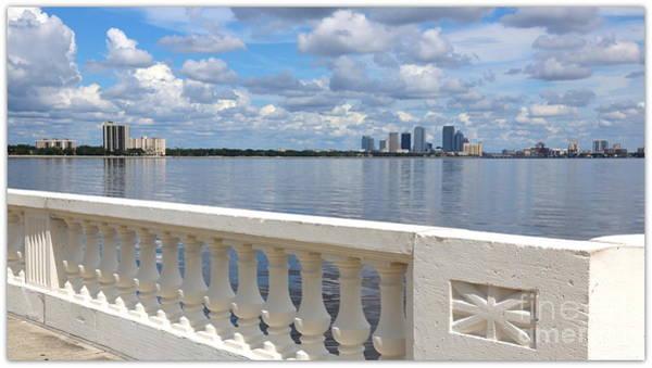 Photograph - Beautiful Tampa Balustrade by Carol Groenen