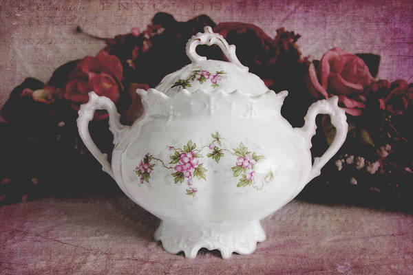 Photograph - Beautiful Victorian Bowl  by Trina Ansel
