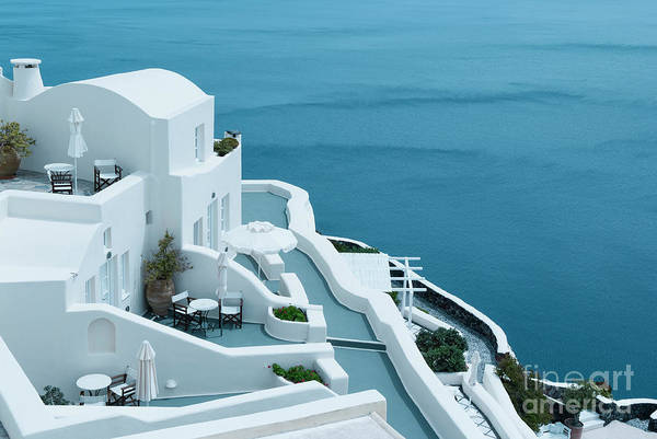 Wall Art - Photograph - Beautiful View In Oia, Santorini, Greece by Dani Prints and Images