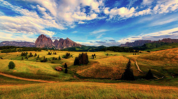 Beautiful View Of The Dolomites - Italy Art Print
